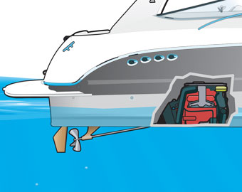 outboard and inboard engines stern and jet drives