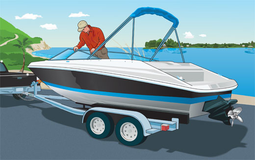 Check your boat for safety violations before you launch