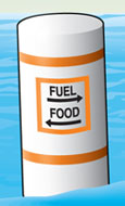 Regulatory marker—information (fuel, food)