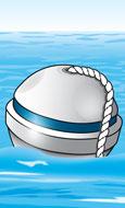 Mooring buoy—sphere