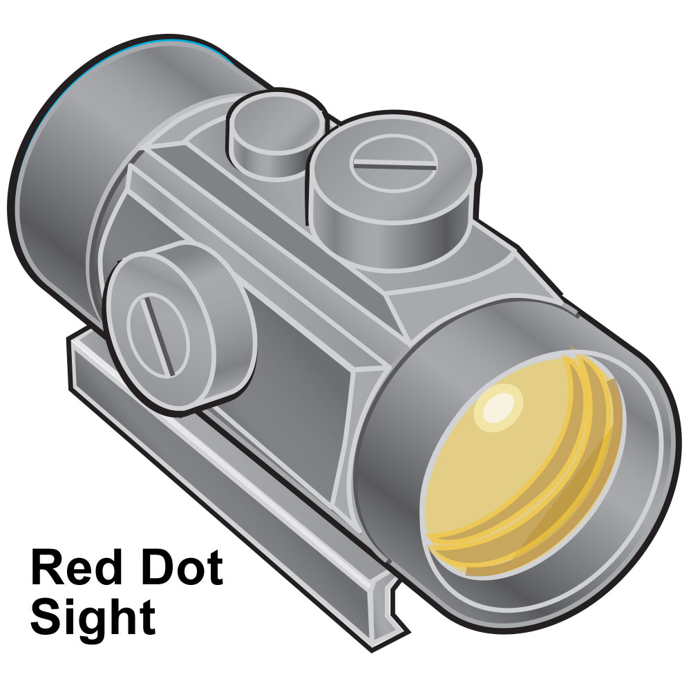Crossbow red dot sight