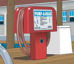 Pump-out station