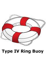 Type IV PFD ring buoy