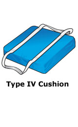 Type IV PFD cushion