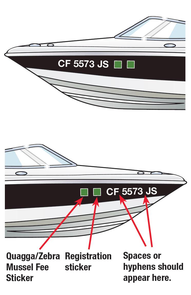 California Boat Decal