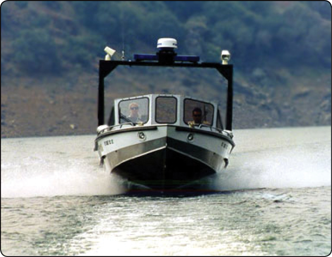 Law Enforcement Vessel