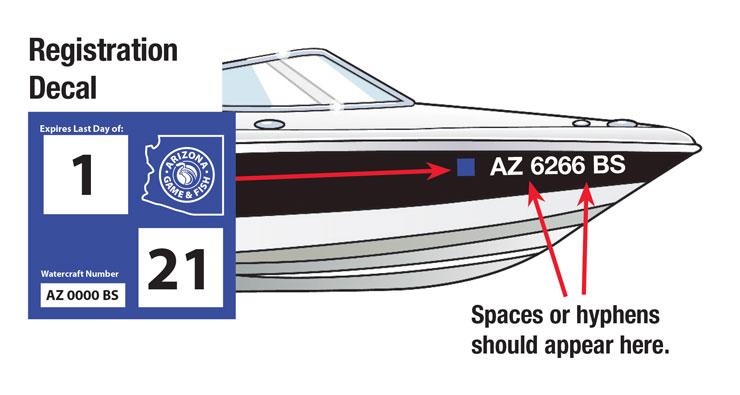 Arizona Boat Decal