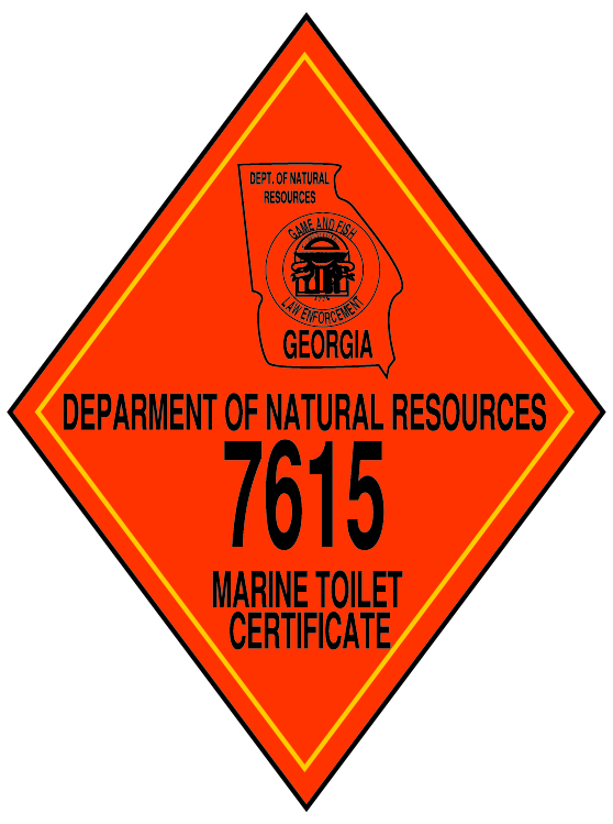 Georgia Marine Toilet Cert