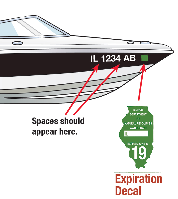Illinois Boat Decal
