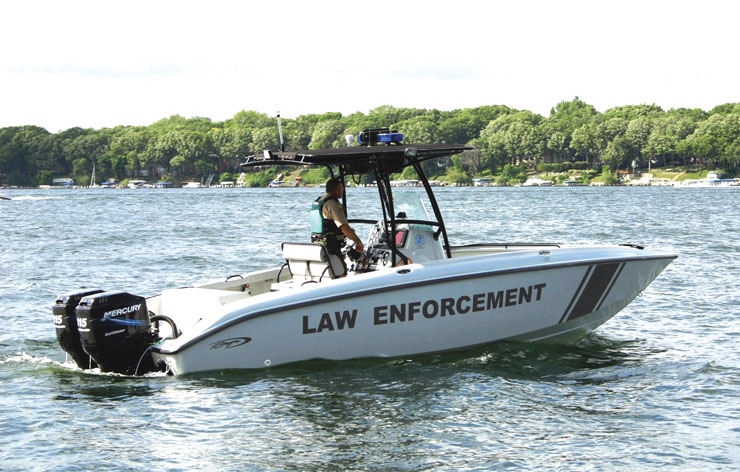 Iowa Enforcement Vessel