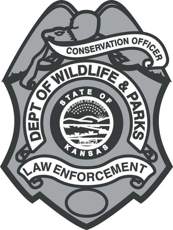 Kansas Department of Wildlife, Parks and Tourism Badge