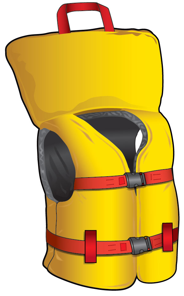 Small vessel lifejacket