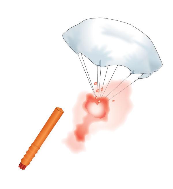 Rocket Parachute Flare