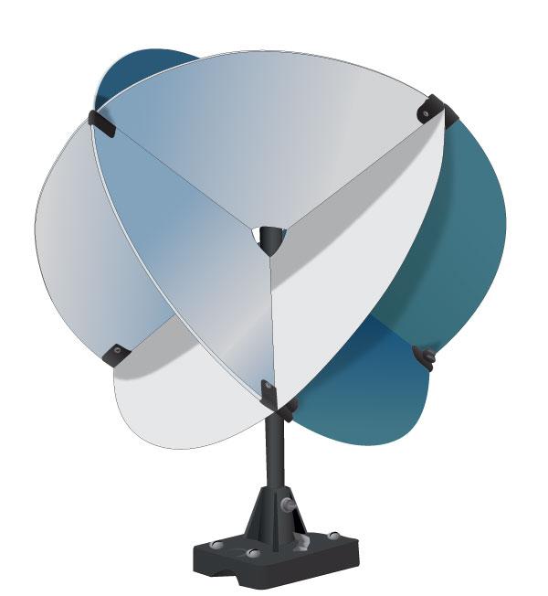 A radar reflector