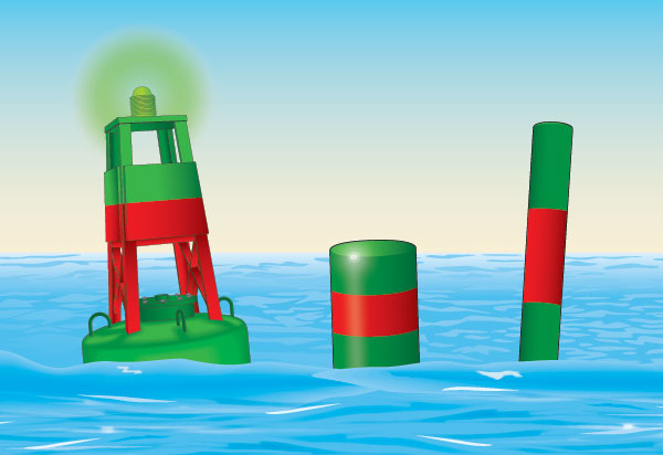 Port bifurcation buoy