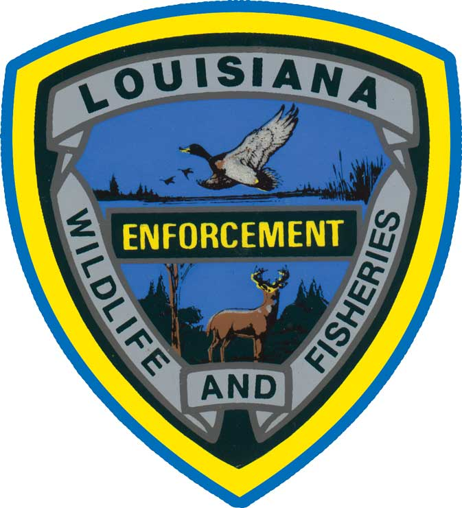 Louisiana Wildlife and Fisheries Enforcement Logo
