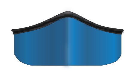 Canoe hull with straight sides