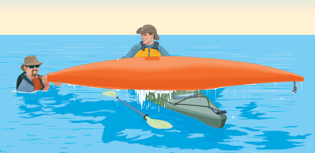 Boat over boat rescue