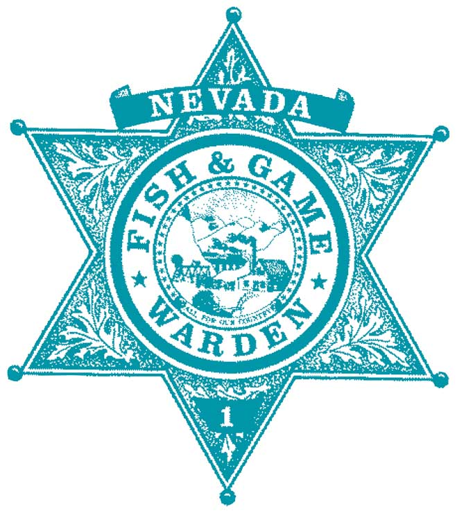 Nevada Fish and Game Warden Badge