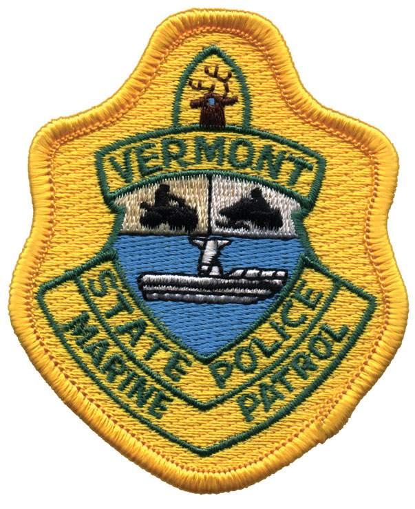 Vermont State Police Marine Patrol Patch