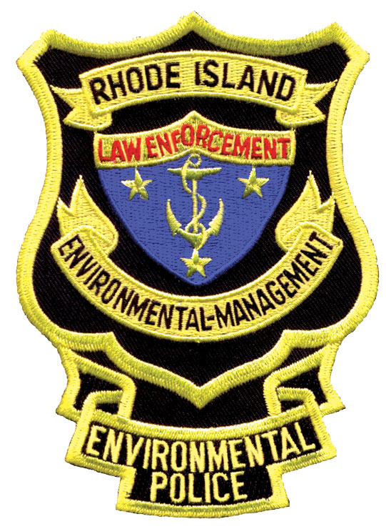 Rhode Island Environmental Police Officer Patch