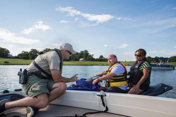 Virginia Lake Anna Officer