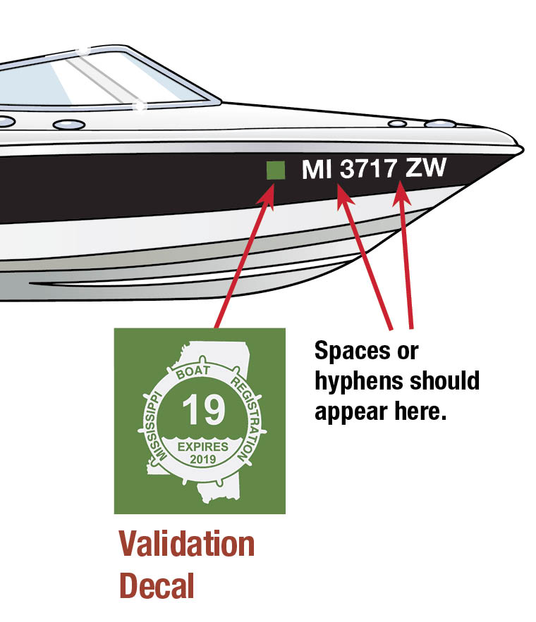 MS boat decal 2019 - Ms Motor Boat Registration Application