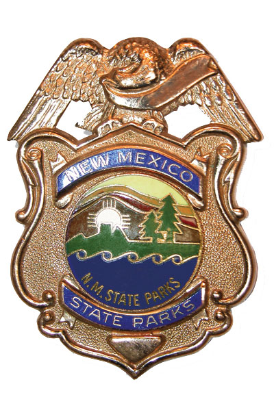 New Mexico State Parks Officer Badge