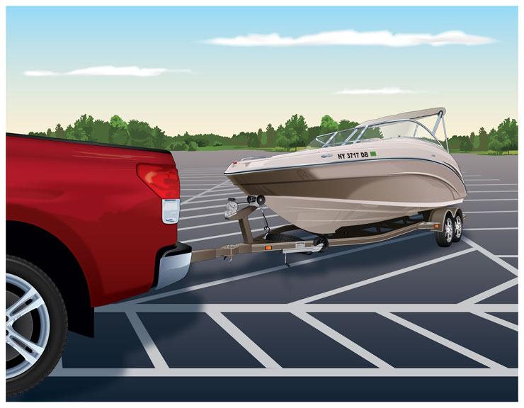 Boat Trailer Registration Decal