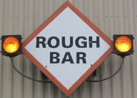 Oregon Rough Bar Sign