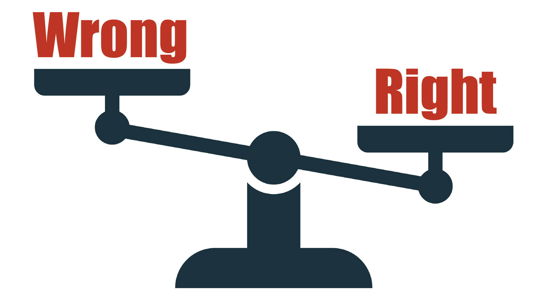 A balancing act: personal ethics