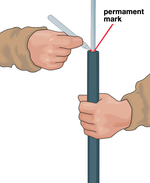 Muzzleloader Empty Mark