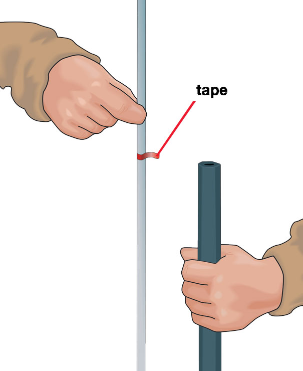 Muzzleloader Empty Tape Mark