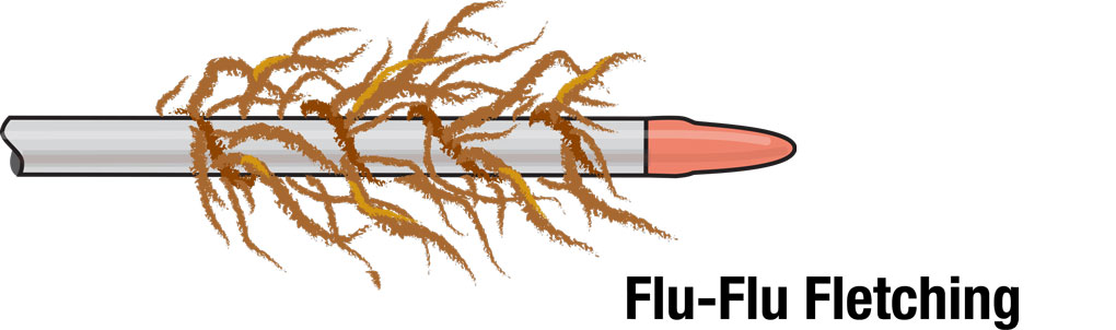 Flu-Flu fletching