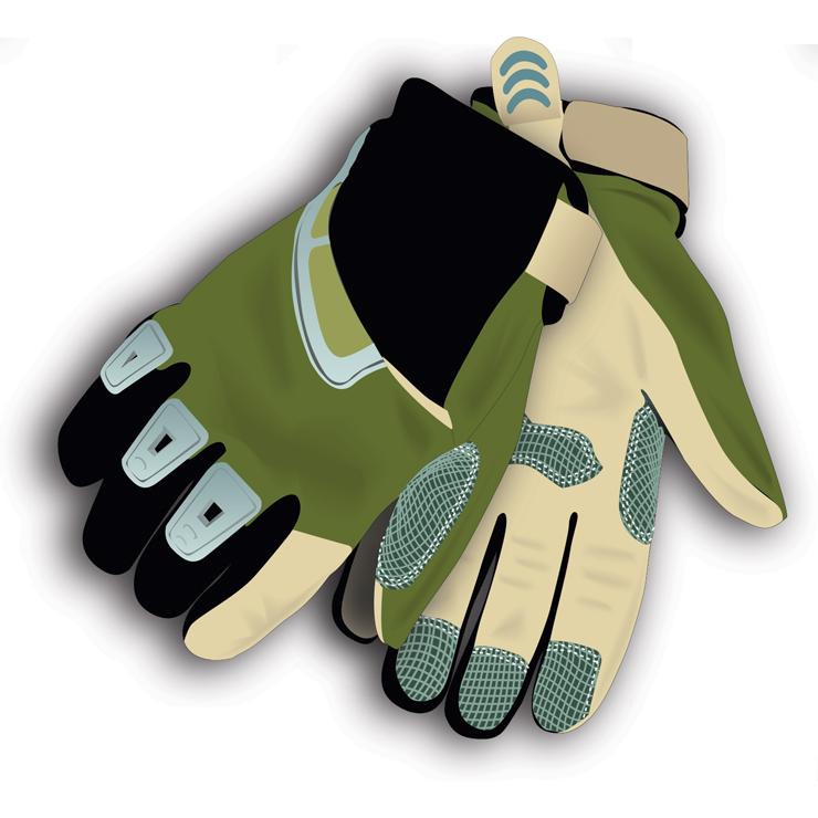 ATV gloves