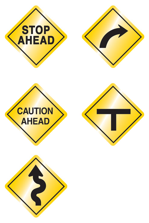 ORV Caution Signs