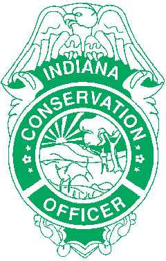 Indiana State Conservation Officer badge