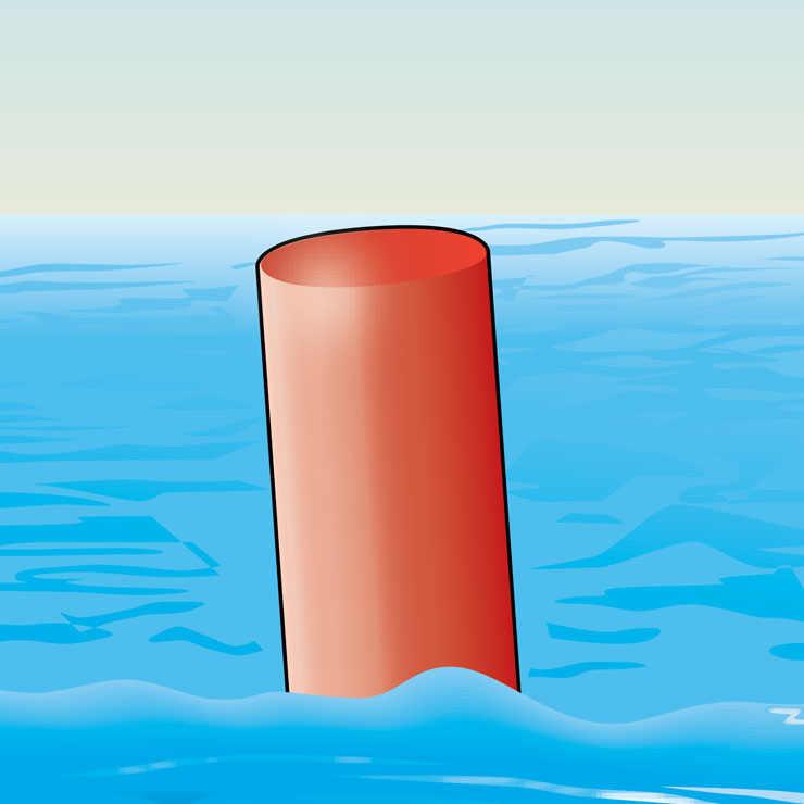 All Red Buoy