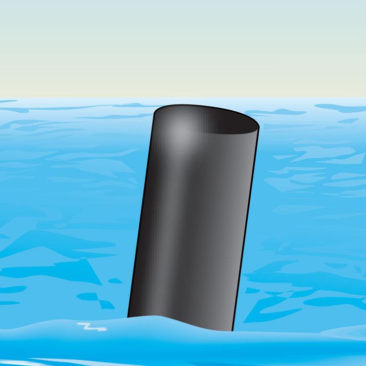 All Black Buoy