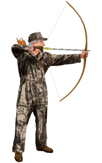 Drawing the bow