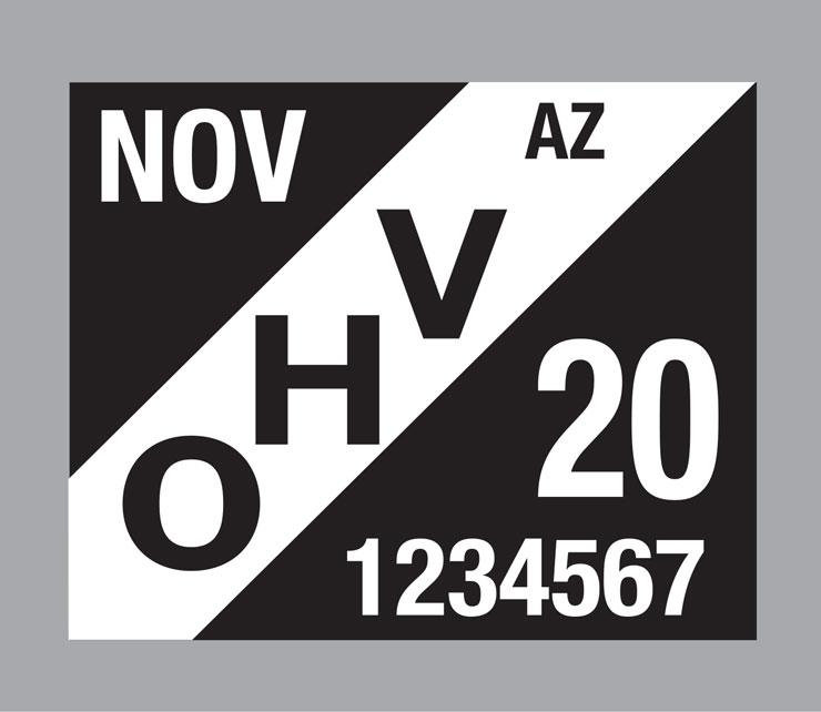 Arizona OHV decal