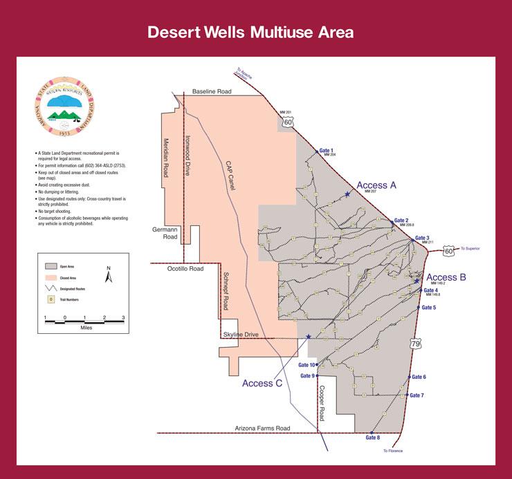 Arizona Desert Wells Multi-Use Area