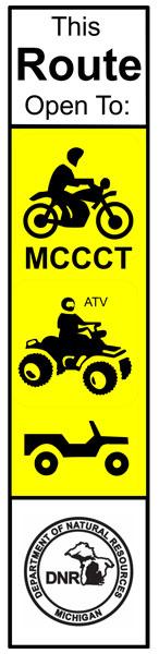 MCCCT route marker