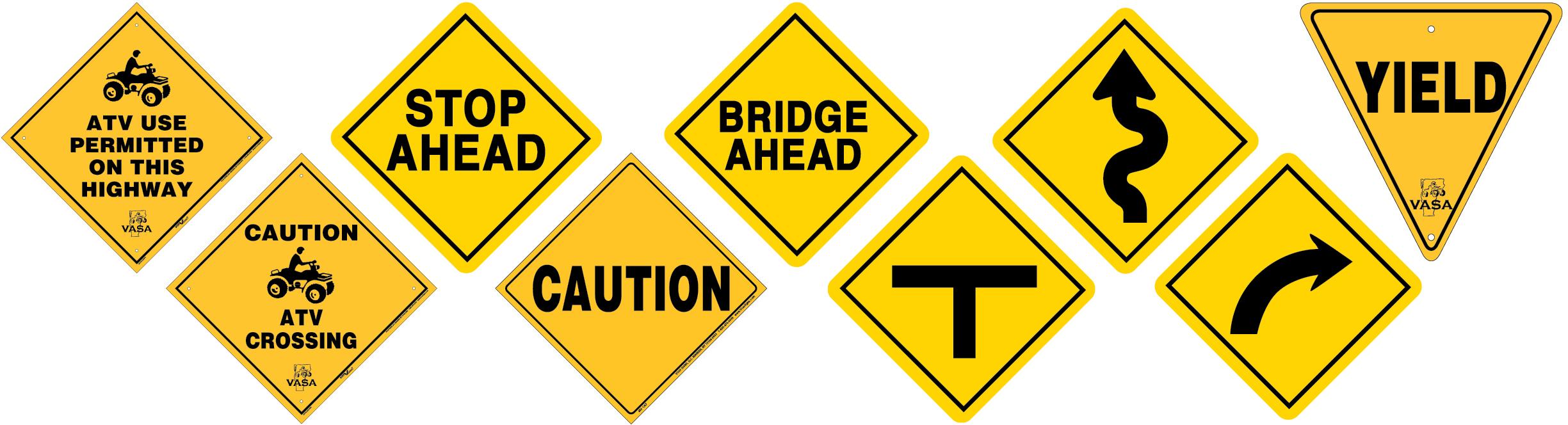Vermont caution signs