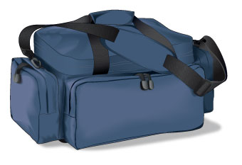 Range bag for handguns