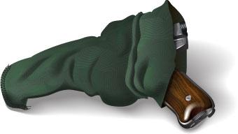 Handgun gunsock