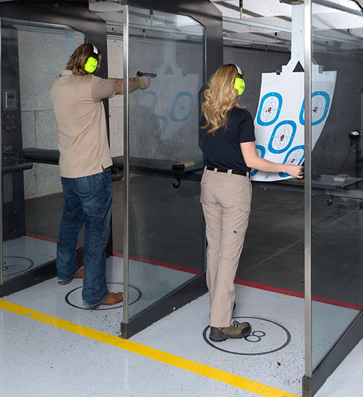 Practicing with handguns
