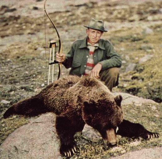 Fred bear archery logo fred bear