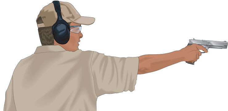 Good handgun marksmanship