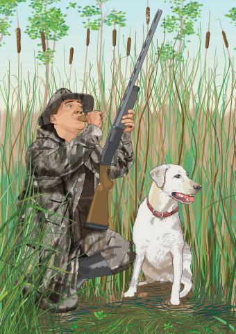 Hunter calling game